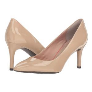 ロックポート レディース パンプス シューズ・靴 Total Motion 75mm Pointy Toe Pump Warm Taupe fermart2-store