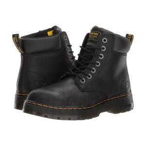 ドクターマーチン Dr. Martens Work メンズ ブーツ シューズ・靴 Winch Steel Toe Black Wyoming fermart2-store