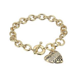 ゲス レディース ブレスレット ジュエリー・アクセサリー Toggle Bracelet I Gold|fermart2-store