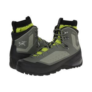 アークテリクス メンズ シューズ・靴 ハイキング・登山 Bora Mid GTX Tundra/Reed Green|fermart2-store