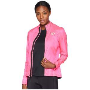 パールイズミ Pearl Izumi レディース アウター 自転車 W ELITE Barrier Cycling Jacket Screaming Pink|fermart2-store