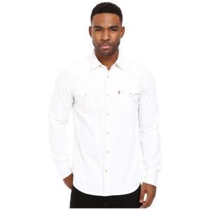 リーバイス メンズ シャツ トップス Standard Barstow Western Shirt White fermart2-store