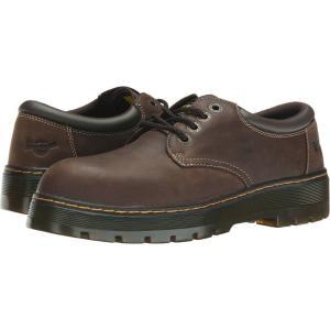 ドクターマーチン Dr. Martens Work メンズ 革靴・ビジネスシューズ シューズ・靴 Bolt ST Dark Brown Wyoming/Brown PU fermart2-store