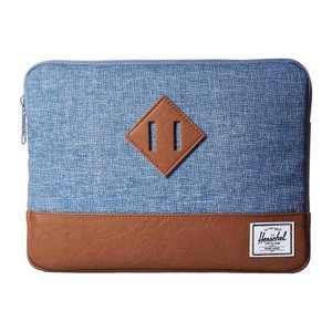 ハーシェル サプライ メンズ iPadケース Heritage Sleeve for iPad Air Limoges Crosshatch/Tan|fermart2-store