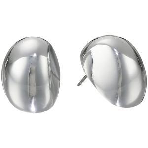 ロバート リー モーリス Robert Lee Morris レディース イヤリング・ピアス ジュエリー・アクセサリー Oval Domed Stud Earrings Silver|fermart2-store