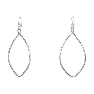 ロバート リー モーリス レディース イヤリング・ピアス ジュエリー・アクセサリー Large Oval Drop Earrings Silver|fermart2-store