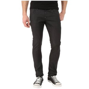 ジースター メンズ ジーンズ・デニム ボトムス・パンツ Revend Super Slim in Black Pintt Stretch Denim 3D Dark Aged|fermart2-store