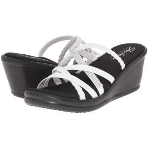 スケッチャーズ SKECHERS レディース シューズ・靴 サンダル Rumblers - Wild Child White|fermart2-store