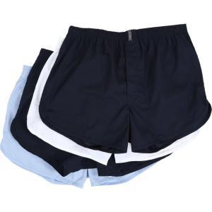 ジョッキー メンズ ボクサーパンツ インナー・下着 Blended Tapered Boxer - 4 Pack Blue/White/Blue/Navy|fermart2-store