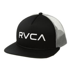 ルーカ RVCA メンズ キャップ 帽子 Foamy Trucker Black/White fermart2-store