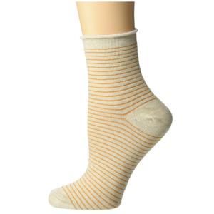 リッチャー プアラー Richer Poorer レディース ソックス インナー・下着 Hari Ankle Oatmeal/Gold|fermart2-store