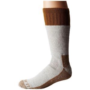カーハート Carhartt メンズ ソックス インナー・下着 Cold Weather Boot Socks 1-Pair Pack Brown|fermart2-store