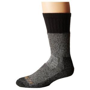 カーハート Carhartt メンズ ソックス インナー・下着 Cold Weather Boot Socks 1-Pair Pack Heather Black|fermart2-store