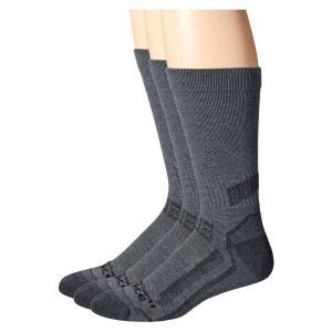 カーハート Carhartt メンズ ソックス インナー・下着 Force Performance Crew Socks 3-Pair Charcoal Heather|fermart2-store