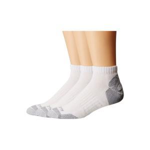 カーハート Carhartt メンズ ソックス インナー・下着 Cotton Low Cut Work Socks 3-Pack White|fermart2-store