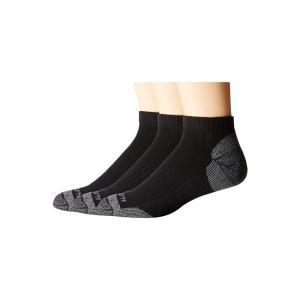 カーハート Carhartt メンズ ソックス インナー・下着 Cotton Low Cut Work Socks 3-Pack Black|fermart2-store
