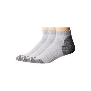 カーハート Carhartt メンズ ソックス インナー・下着 Cotton Low Cut Work Socks 3-Pack Gray|fermart2-store