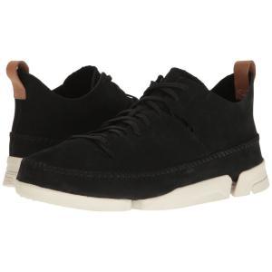クラークス メンズ スニーカー シューズ・靴 Trigenic Flex Black Nubuck fermart2-store