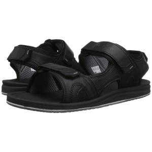 ニューバランス New Balance メンズ シューズ・靴 サンダル Purealign Recharge Sandal Black|fermart2-store