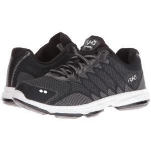 ライカ レディース シューズ・靴 フィットネス・トレーニング Dominion Black/White|fermart2-store