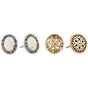 ラッキーブランド レディース イヤリング・ピアス ジュエリー・アクセサリー Stud Earrings Set Two-Tone