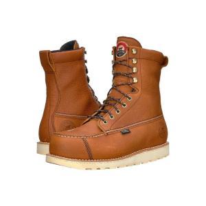 アイリッシュ セッター Irish Setter メンズ シューズ・靴 ハイキング・登山 Wingshooter Safety Toe 83832 Brown|fermart2-store