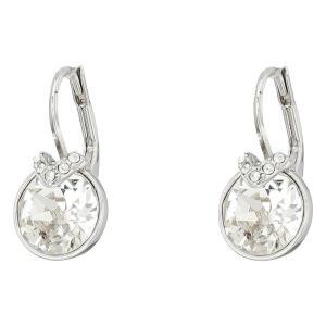 スワロフスキー レディース イヤリング・ピアス ジュエリー・アクセサリー Bella Pierced Earrings White fermart2-store