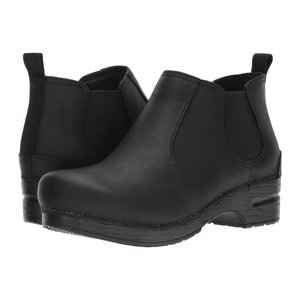 ダンスコ レディース ブーツ シューズ・靴 Frankie Black Oiled|fermart2-store