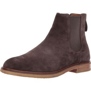 クラークス メンズ ブーツ シューズ・靴 Clarkdale Gobi Dark Brown Suede fermart2-store