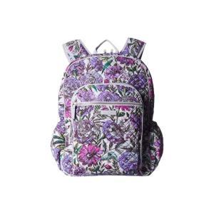 ヴェラ ブラッドリー Vera Bradley レディース バックパック・リュック バッグ Iconic Campus Backpack Lavender Meadow|fermart2-store