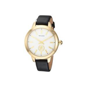 トリー バーチ レディース 腕時計 Collins - TBW1205 Black|fermart2-store