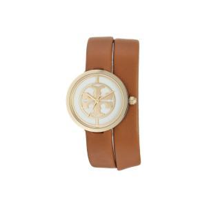 トリー バーチ レディース 腕時計 Reva - TBW4018 Light Brown fermart2-store