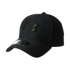 アンダーアーマー メンズ キャップ 帽子 Blitzing 3.0 Cap Black/Black/Black|fermart2-store