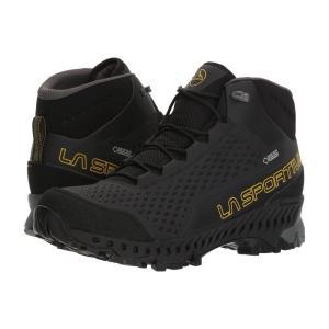 ラスポルティバ メンズ シューズ・靴 ハイキング・登山 Stream GTX Black/Yellow|fermart2-store