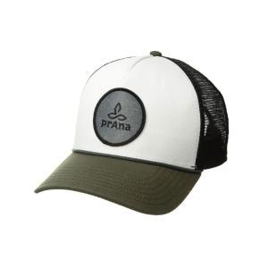 プラーナ Prana レディース キャップ 帽子 Organic Cotton Patch Trucker Cargo Green|fermart2-store