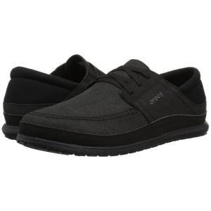 クロックス Crocs メンズ スニーカー シューズ・靴 Santa Cruz Playa Lace Black/Black|fermart2-store