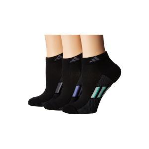 アディダス adidas レディース ソックス インナー・下着 Climacool Superlite Stripe Low Cut Socks 3-Pack fermart2-store
