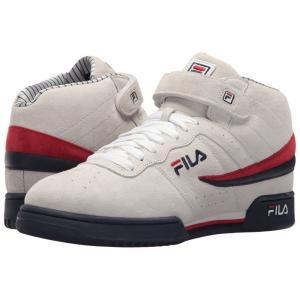 フィラ Fila メンズ スニーカー シューズ・靴 F-13 PS White/Fila Navy/Fila Red|fermart2-store