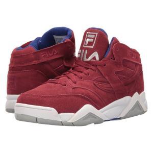 フィラ Fila メンズ スニーカー シューズ・靴 M Squad Biking Red/Royal Blue/White|fermart2-store