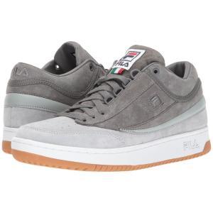 フィラ Fila メンズ スニーカー シューズ・靴 T-1 Mid High-Rise/Pewter/White|fermart2-store