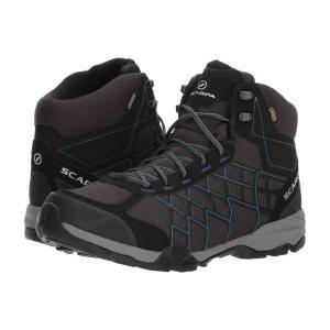 スカルパ メンズ シューズ・靴 ハイキング・登山 Hydrogen Hike GTX Dark Grey/Lake Blue|fermart2-store