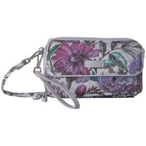 ヴェラ ブラッドリー Vera Bradley レディース ショルダーバッグ バッグ Iconic RFID All-In-One Crossbody Lavender Meadow|fermart2-store