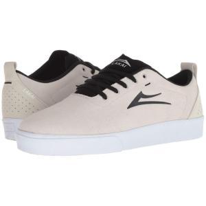ラカイ Lakai メンズ スニーカー シューズ・靴 Bristol White/Black Suede|fermart2-store