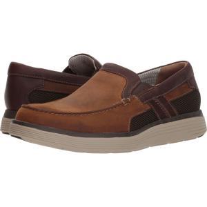 クラークス メンズ ローファー シューズ・靴 UnAbode Free Light Tan Leather|fermart2-store