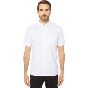 ハーレー メンズ 半袖シャツ トップス One & Only 2.0 Short Sleeve Woven White fermart2-store