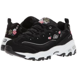 スケッチャーズ レディース スニーカー シューズ・靴 D'Lites Bright Blossom Black|fermart2-store