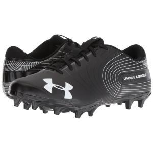 アンダーアーマー メンズ シューズ・靴 アメリカンフットボール UA Speed Phantom MC Black/White|fermart2-store
