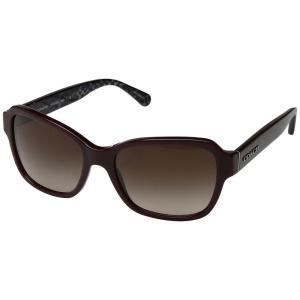 コーチ レディース メガネ・サングラス 0HC8232 56mm Oxblood/Dark Brown Gradient|fermart2-store