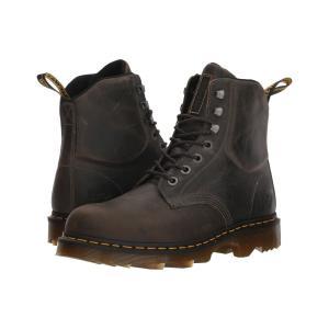ドクターマーチン Dr. Martens Work メンズ ブーツ シューズ・靴 Crofton Lightweight Heritage Black Greenland|fermart2-store