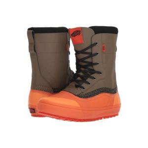 ヴァンズ Vans レディース ブーツ シューズ・靴 Standard(TM) Snow Boot '18 Green/Orange|fermart2-store